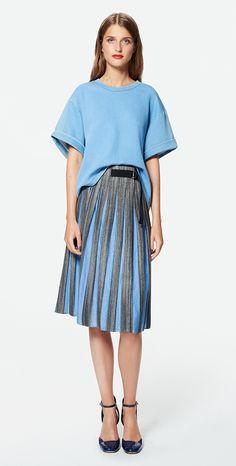 MAX&Co. SS 2016 - Sweatshirt PRESTIGI / skirt CARLOTTA / pumps ALBURNO