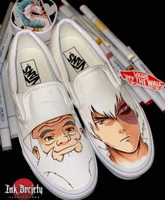 Custom Sneakers, Custom Shoes, Custom Af1, Avatar Zuko, Avatar Cartoon, Anime Inspired Outfits, Rainbow Shoes, Avatar The Last Airbender Art, Sneaker Art