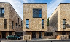 BuildingBPTW draws on historic references for a housing scheme in Greenwich, south London Architecture Today, English Architecture, Co Housing, Social Housing, Brick Arch, Brick Facade, Brick Projects, Mews House, Brick Detail