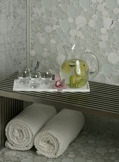 artistic tile glass and marble mosaic
