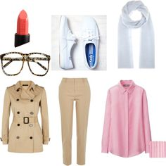 Jessica Fletcher MSW by nicolesobol on Polyvore featuring polyvore, fashion, style, Uniqlo, Jaeger, River Island, American Eagle Outfitters, Jardin des Orangers and NARS Cosmetics