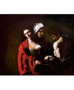 Michelangelo Merisi da Caravaggio • Salomé con la cabeza del Bautista, 1606-07