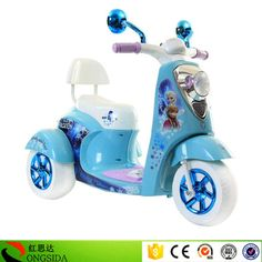 New Style Kids Electric Motorcycle 6V4.5AH Battery Operated Children Motor Bike 3 Wheel Rechargeble Baby Motorbike