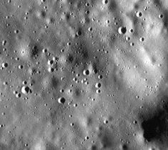 At an incredible 5 meters per pixel, this is one of the highest-resolution images of Mercury's surface ever captured. It was acquired on March 15 with the MESSENGER spacecraft's MDIS (Mercury Dual Imaging System) instrument.
