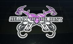 Heart Of The Hunt - Window Decal