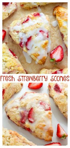 Strawberries and Cream Scones - Baker by Nature - - Strawberries and Cream Scones – Baker by Nature Bake, Cook, Eat! Strawberries and Cream Scones Just Desserts, Delicious Desserts, Dessert Recipes, Yummy Food, Healthy Food, Dessert Food, Party Desserts, Healthy Desserts, Dinner Recipes