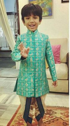 32 New Ideas For Fashion Kids Boy Wedding Indian Baby Boy Ethnic Wear, Kids Ethnic Wear, Baby Boy Dress, Baby Boy Outfits, Kids Outfits, Kids Wear Boys, Kids Girls, Kids Kurta, Kids Indian Wear