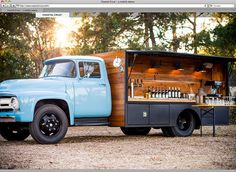 wood food truck - Google Search