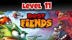Best Fiends Level 11 Barrier Bay