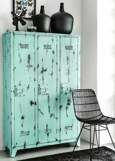 Mint Lockers Retro Home Decor Decorating Vintage