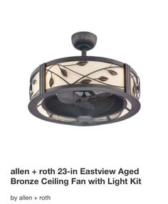 My new ceiling fan low profile no blades super quiet 34 exhale compact low profile ceiling fan lowes 230 httplowes aloadofball Image collections