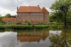 Wasserschloss Haus Egelborg in Nordrhein-Westfalen (Freiherren von Oer)