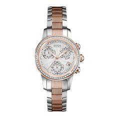 Bulova Accu Swiss Rose Gold   Diamonds karóra - Bulova - óra eb9cbaaf19