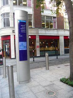 City wayfinding Broadgate by designworkplan, via Flickr