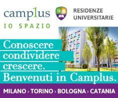 Knowing, sharing, caring. Welcome in #Camplus. #university #residences