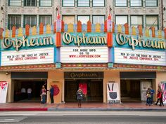 Though Hollywood is home to plenty of swank multiplexes, few grand movie palaces—like the Orpheum or the Million Dollar Theater—still regularly show films. And each summer, the L.A. Conservancy hosts Last Remaining Seats, a program that brings screenings of classic films to these gorgeous old movie houses. The lineup this year includes Alfred Hitchcock's Psycho and Charlie Chaplin's City Lights.