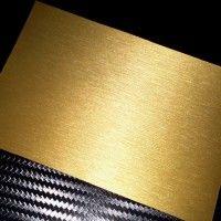 Fırça İzli Altın Folyo 100 Cm X 152 Cm