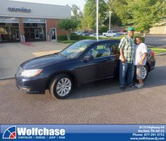 #HappyAnniversary to Preston Johnson on your 2013 #Chrysler #200 from Rufus Johnson Jr at Wolfchase Chrysler Jeep Dodge!