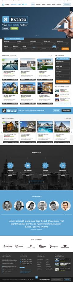 Parallax Website Template Fab Is Premium Full Responsive Retina Ecommerce Template