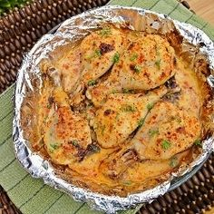 Buttermilk Roast Chicken...For super tender and juicy chicken, soak peices in this buttermilk mixture for 24-48 hours.