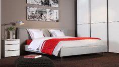 Slaapkamer grijstinten
