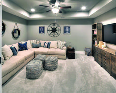 17 Most Popular Bonus Room Ideas, Designs & Styles is part of Basement decor - BONUS ROOM IDEAS A person discovered this The ideal desire house! It's the precise quantity of bedrooms as well as bathrooms The actual residing area Cozy Basement, Basement Living Rooms, Basement Makeover, Basement Renovations, Home Remodeling, Living Room Decor, Basement Ideas, Basement Bathroom, Basement Plans