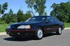 eBay Find of the Day: 1987 Ford Thunderbird Turbo Coupe is showroom fresh - Autoblog