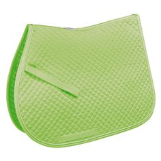 Lime Green English All Purpose Saddle Pad - All Purpose Style - Rara... ❤ liked on Polyvore
