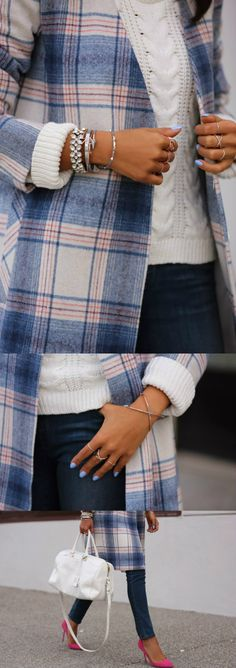PASTEL PLAID    http://vivaluxury.blogspot.com/2013/12/pastel-plaid.html