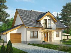 2 Storey House Design, Design Case, Home Fashion, House Plans, Shed, Exterior, Outdoor Structures, Cabin, House Styles
