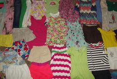 Huge 44pc Lot Girl's sz 6-7-8 Clothing Spring Summer Justice Gymboree Crazy 8 + #Justice #Everyday