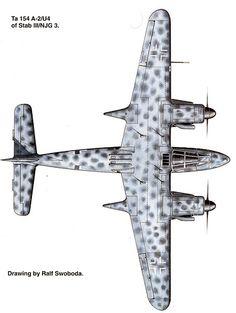Focke-Wulf Ta 154 Moskito by Ralf Svoboda (nice try Germany but no bananas)
