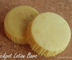 Slow cooker lotion bars will change the way you make your own lotion! When you make lotion bars in a slow cooker, you will eliminate the messy mixing spills on your table! I have been seeing homemade … Diy Lotion, Lotion Bars, Hand Lotion, Homemade Soap Recipes, Homemade Gifts, Diy Gifts, Homemade Bbq, Homemade Pretzels, Homemade Things