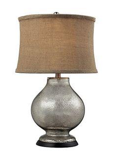 Elegant Steel Table Lamp #Kohls #home #decor