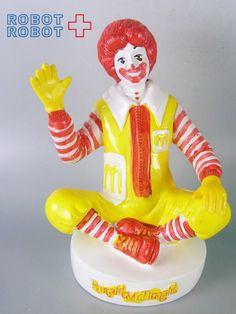 マクドナルド : マクドナルドロナルド貯金箱