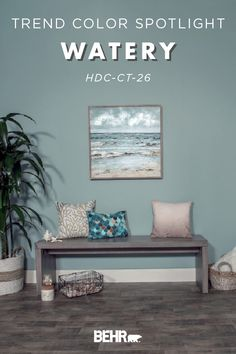 Family room design – Home Decor Interior Designs Blue Gray Paint Colors, Behr Paint Colors, Bedroom Paint Colors, Paint Colors For Home, Blue Bathroom Decor, Downstairs Bathroom, Bathroom Ideas, Family Room Design, Blue Rooms