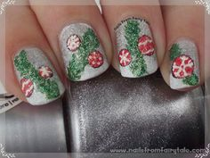 Sparkly Christmas garland. Will try this!!!