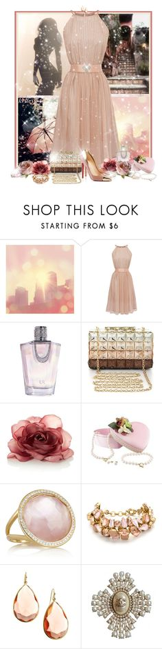 """Softly"" by kelley74 ❤ liked on Polyvore featuring Coast, Usher, BCBGMAXAZRIA, Ippolita, Christian Louboutin, J.Crew and Chanel"