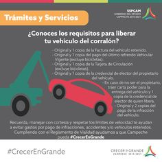 Requisitos para liberar vehículo retenido en corralón.