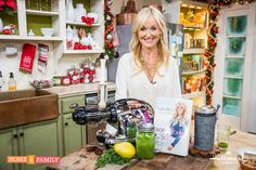 Lose the holiday weight with @sophieuliano's Morning Cleanse! Tune in to Home and Family weekdays at 10/9c on Hallmark Channel!