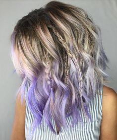 Nice dip dye hairstyle