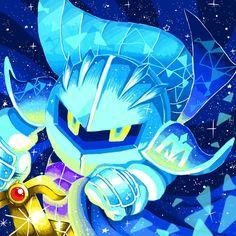 Meta Knight... Meta Knight, Knight Art, Kirby Games, Kirby Character, Pokemon, Fighting Robots, Cute Games, Mario And Luigi, Kawaii