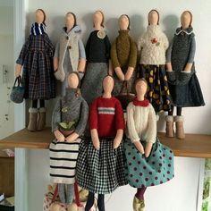 Photo - Her Crochet Fabric Dolls, Paper Dolls, Doll Toys, Baby Dolls, Sewing Dolls, Doll Tutorial, Waldorf Dolls, Knitted Dolls, Soft Dolls