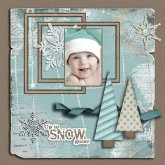 Digital: Baby challenge by Pennysan on scrapbook.com
