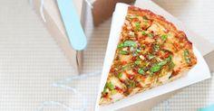 Recette de Quiche froide sans pâte au poulet, tomates et courgette. Facile et rapide à réaliser, goûteuse et diététique.
