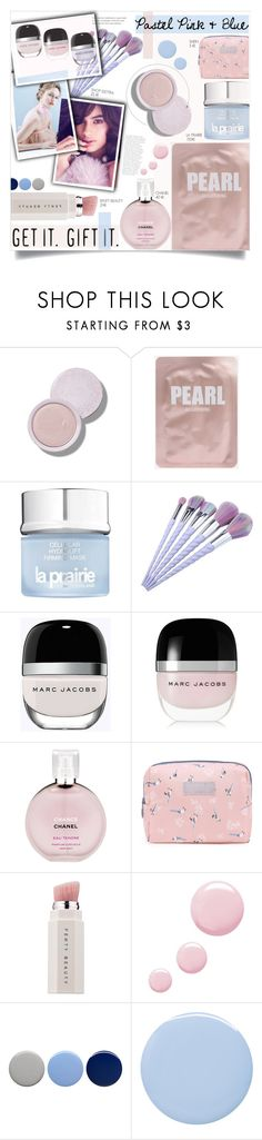 """""""Pastel beauty"""" by trendyandtrend ❤ liked on Polyvore featuring beauty, La Prairie, Marc Jacobs, Chanel, Puma, Topshop, Burberry and Deborah Lippmann"""