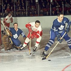 Hockey Goalie, Hockey Games, Hockey Players, George Armstrong, Red Wings Hockey, Toronto Maple Leafs, Detroit Red Wings, Nhl, Masks