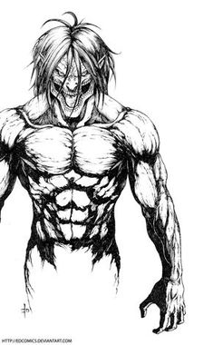 Anime Sketch Videos Attack On Titan Attack On Titan Tattoo, Attack On Titan Fanart, Attack On Titan Eren, Film Anime, Manga Anime, Anime Art, Eren Aot, Tattoo L, Anime Tattoos