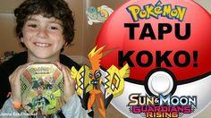 VIDEO: #Pokemon Tapu Koko Tin!   WATCH: http://youtu.be/D-hbtcboSv4   #GuardiansRising #PokemonCards #PokemonTCG #PokemonCommunity #PrayForPulls