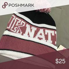 Pink Nation Beanie Soft Begonia Beanie PINK Victoria's Secret Accessories Hats